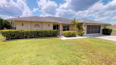Cape Coral Single Family Home For Sale: 1804 NW 26th Ave