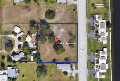 Lehigh Acres Residential Lots & Land For Sale: 709 Joel Blvd