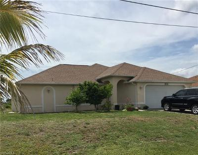 Cape Coral Single Family Home For Sale: 304 NW 22nd Ct