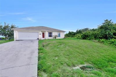Lehigh Acres Single Family Home For Sale: 3111 6th St SW