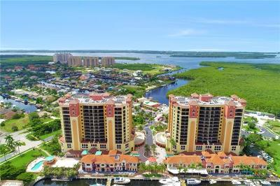 Cape Coral Condo/Townhouse For Sale: 5793 Cape Harbour Dr #1319