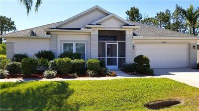 Lehigh Acres Single Family Home For Sale: 4405 Varsity Lakes Dr