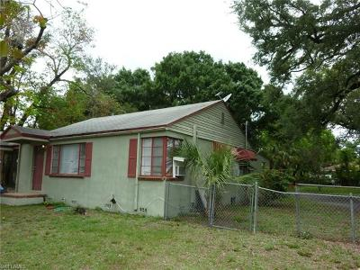 Fort Myers Single Family Home For Sale: 2145 Willard St
