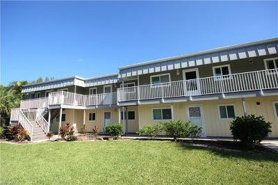 Fort Myers Beach Condo/Townhouse For Sale: 7760 Buccaneer Dr #A1