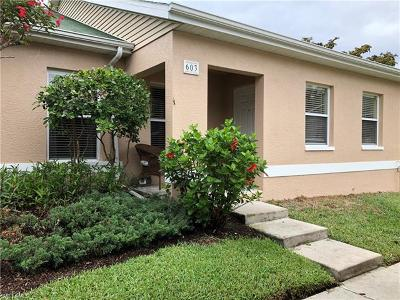 Fort Myers Condo/Townhouse For Sale: 16810 Sanibel Sunset Ct #603