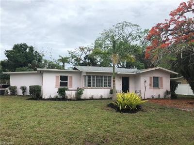 Fort Myers Single Family Home For Sale: 2501 Cortez Blvd