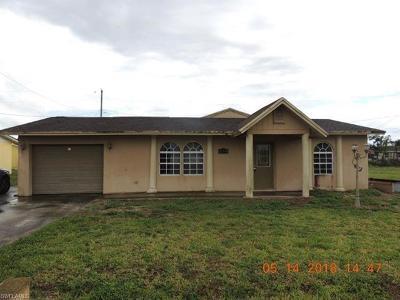 Hendry County Single Family Home For Sale: 1128 Carolina Ave