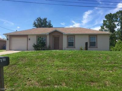 Lehigh Acres FL Single Family Home For Sale: $149,900