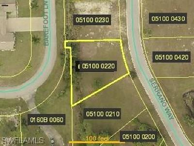 Bonita Springs Residential Lots & Land For Sale: 27129 Serrano Way