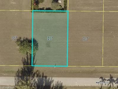Lee County Residential Lots & Land For Sale: 4211 NW 25 Ter
