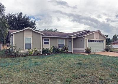 Lee County Single Family Home For Sale: 1206 SW 29th St