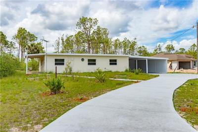 Naples FL Single Family Home For Sale: $257,999