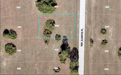Lee County Residential Lots & Land For Sale: 3030 NW Juanita Pl