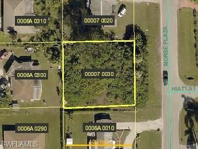 Lee County Residential Lots & Land For Sale: 171 Morse Plz