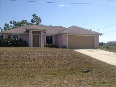 Lehigh Acres Single Family Home For Sale: 4205 27th St SW