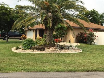 Cape Coral FL Single Family Home For Sale: $260,000