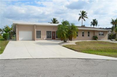 North Fort Myers Single Family Home For Sale: 4340 S Canal Cir