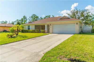 Lehigh Acres Single Family Home Pending With Contingencies: 3303 E 5th St