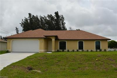 Cape Coral Single Family Home For Sale: 103 SW 21st Pl