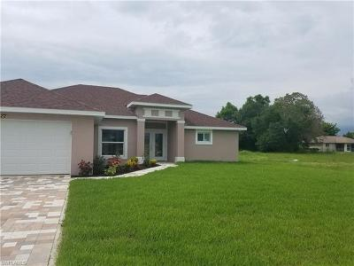 Cape Coral FL Single Family Home For Sale: $259,900
