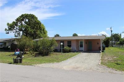 Cape Coral Single Family Home For Sale: 5253 Pocatella Ct