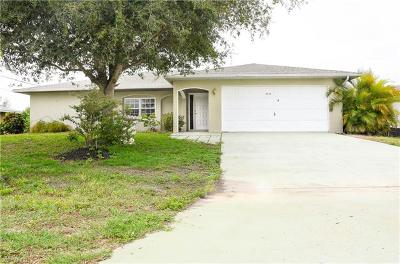 Cape Coral, Matlacha, North Fort Myers Single Family Home For Sale: 1111 SE 16th St