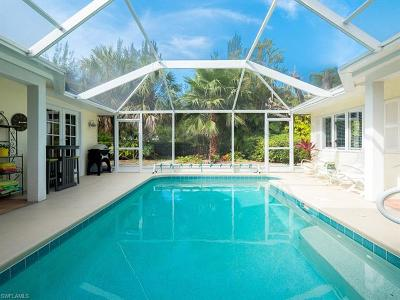 Sanibel Single Family Home For Sale: 5747 Pine Tree Dr