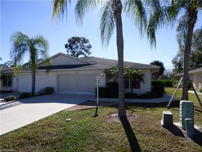 Lehigh Acres Condo/Townhouse For Sale: 454 Bethany Village Cir