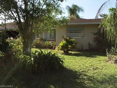 Fort Myers FL Single Family Home Pending With Contingencies: $114,900