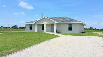 Labelle FL Single Family Home For Sale: $157,500
