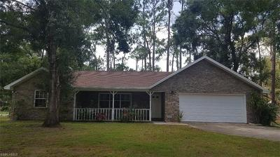 Hendry County Single Family Home Pending With Contingencies: 1670 Palm Ln