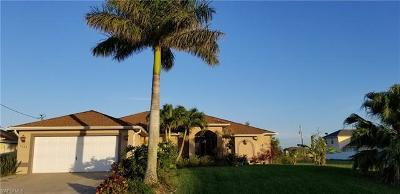 Cape Coral Single Family Home For Sale: 3528 NW 21st Ter