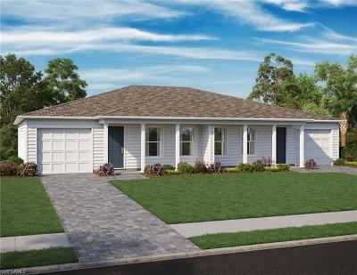 Lehigh Acres Condo/Townhouse For Sale: 9173 Aegean Cir