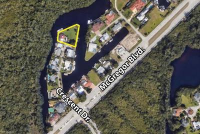 Fort Myers Residential Lots & Land For Sale: 110 Crescent Dr