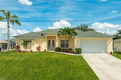 Cape Coral Single Family Home For Sale: 1721 SW 10th Ave
