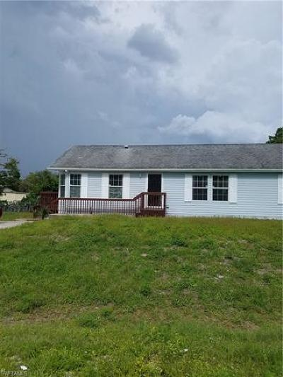 North Fort Myers Single Family Home For Sale: 7779 McDaniel Dr