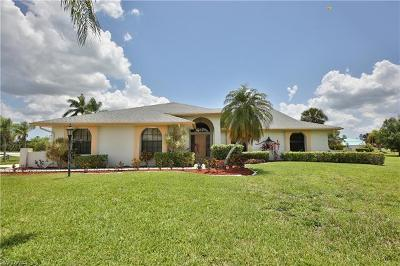 North Fort Myers Single Family Home For Sale: 17181 Waters Edge Cir