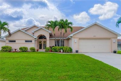 Cape Coral Single Family Home For Sale: 4927 SW 27th Ave