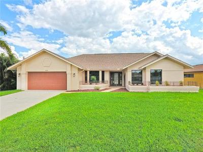 Cape Coral Single Family Home For Sale: 205 El Dorado Pky W
