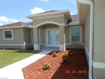 Lehigh Acres Single Family Home For Sale: 710 Magnolia Ave