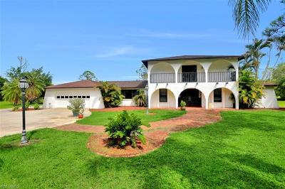 Cape Coral Single Family Home For Sale: 12491 Eagle Rd