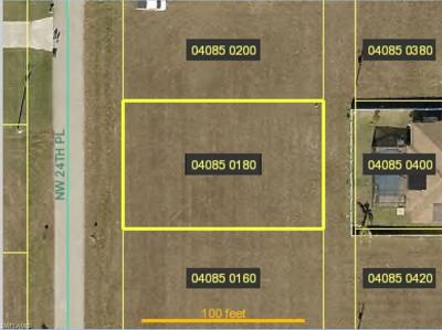 Cape Coral Residential Lots & Land For Sale: 1735 NW 24th Pl