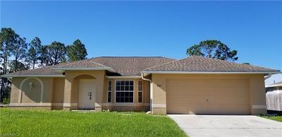 Lehigh Acres Single Family Home For Sale: 3307 3rd St SW
