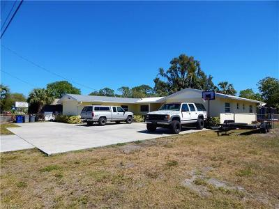 North Fort Myers Single Family Home For Sale: 5460 Bayshore Rd