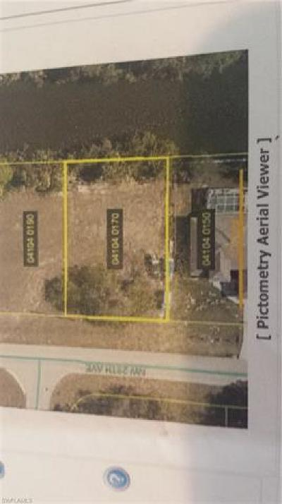 Cape Coral Residential Lots & Land For Sale: 1911 NW 29th Ave