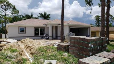 Bonita Springs Single Family Home For Sale: 27071 Jackson Ave