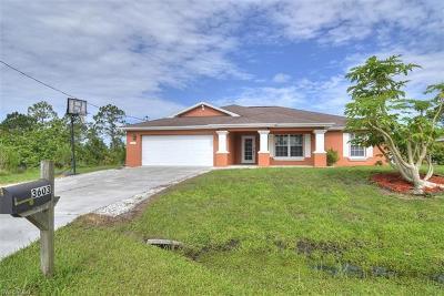 Lehigh Acres Single Family Home For Sale: 3603 Hanna Ave N