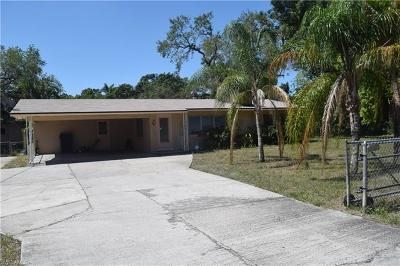Fort Myers Single Family Home For Sale: 3702 Marion St
