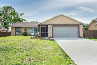 Fort Myers Single Family Home For Sale: 18589 Matanzas Rd