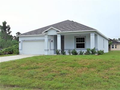 Lee County Single Family Home For Sale: 3513 7th St SW